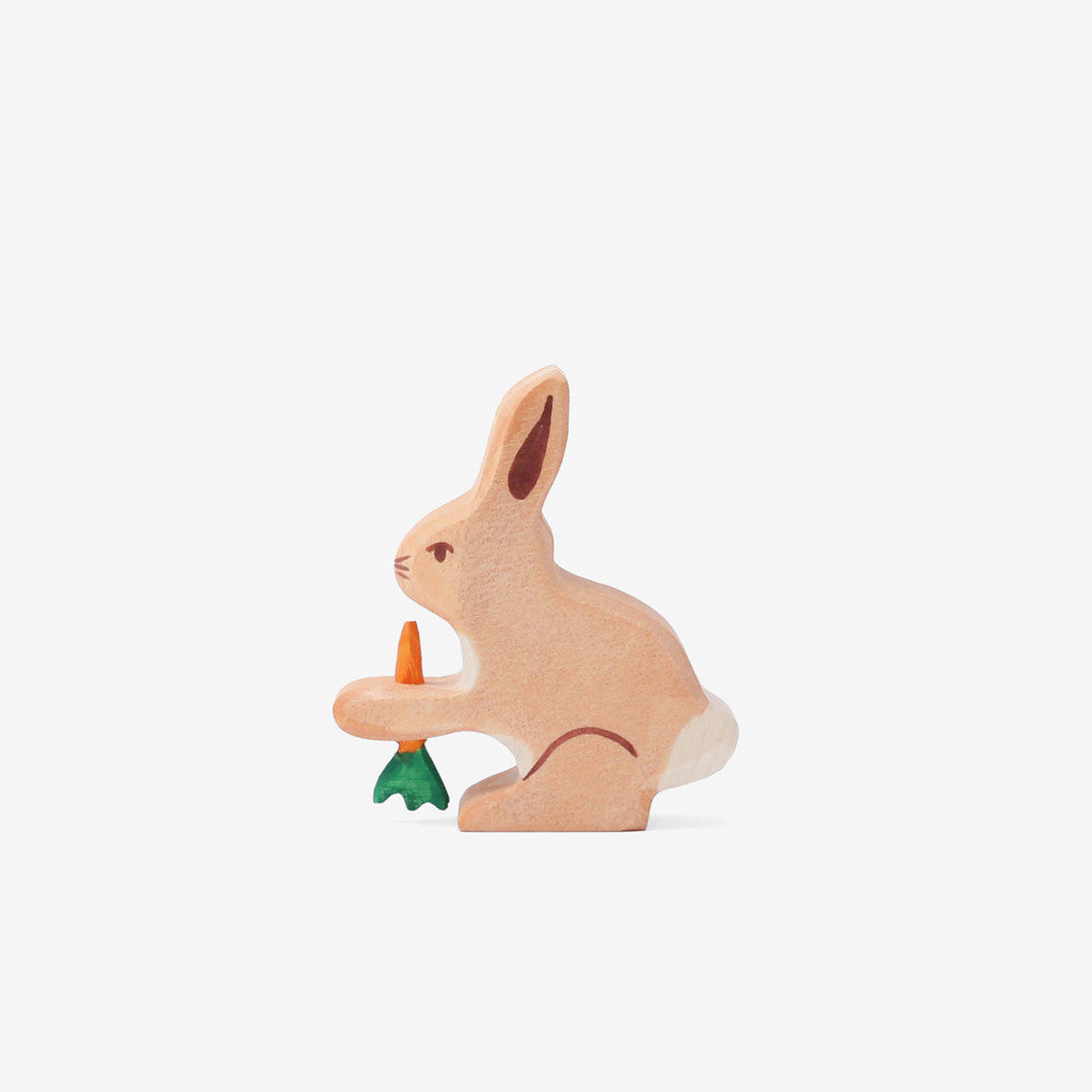 Holztiger Bunny with Carrot