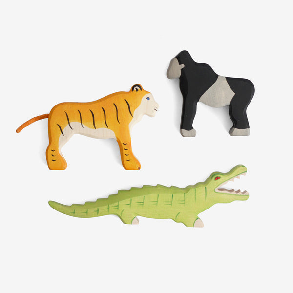 Holztiger Jungle Animals Play Set