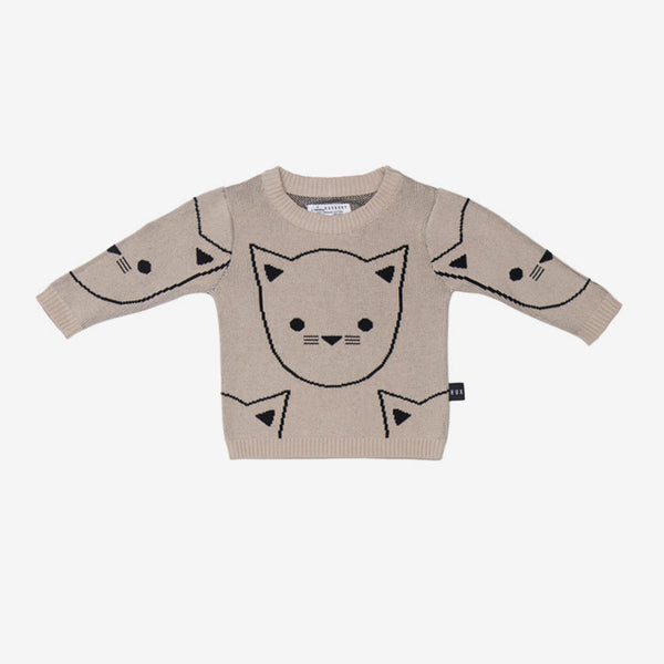 Hux Cat Organic Cotton Sweater