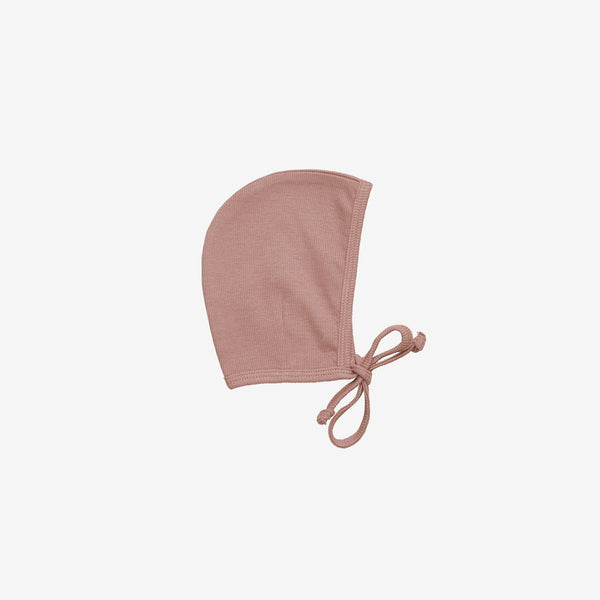 Organic Essentials Rib Bonnet - Ginger