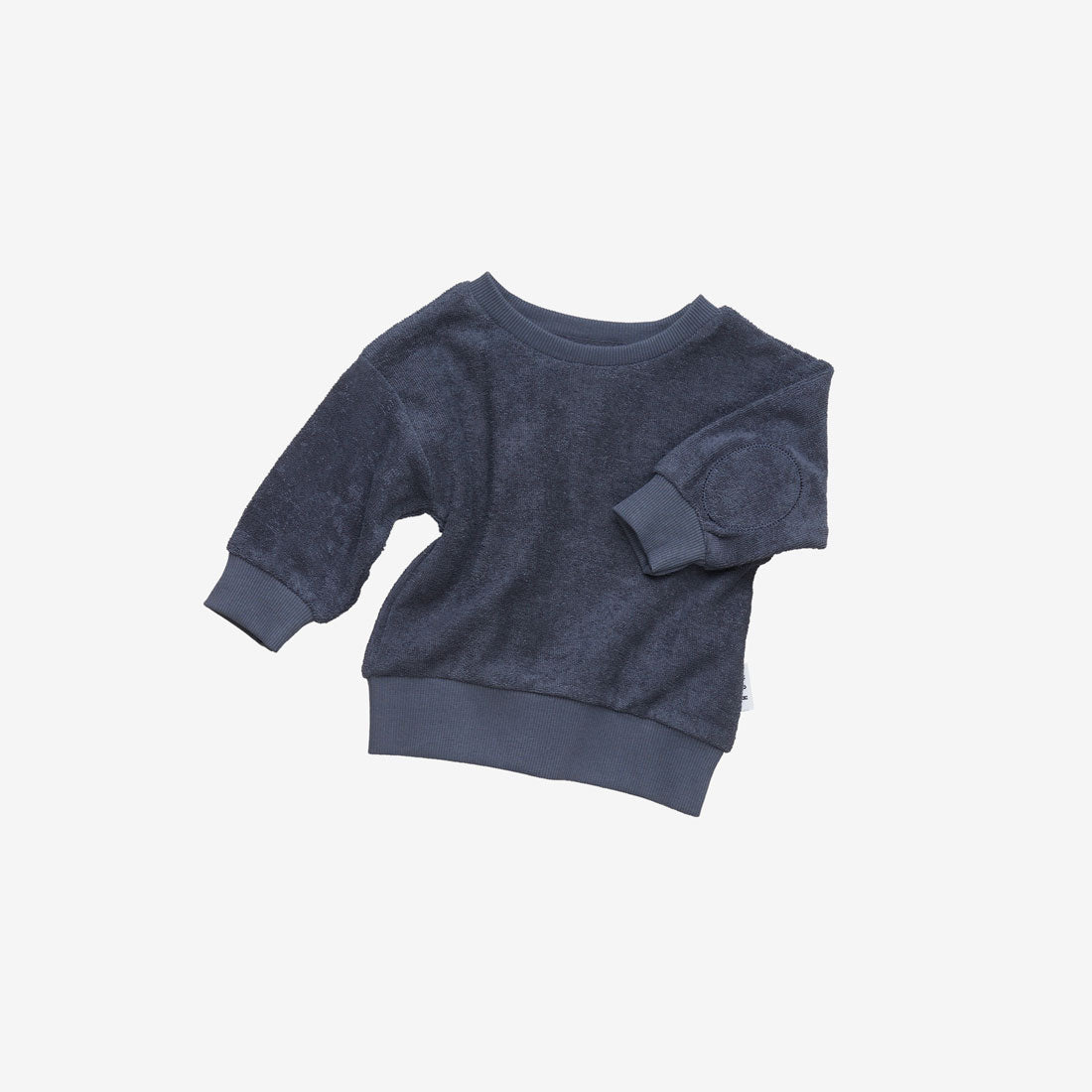 Organic Essentials Terry Sweatshirt - Ink
