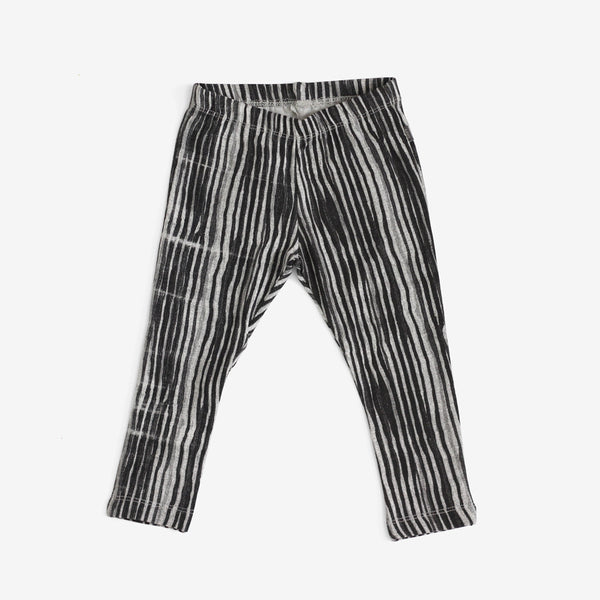 Stripey Organic Leggings