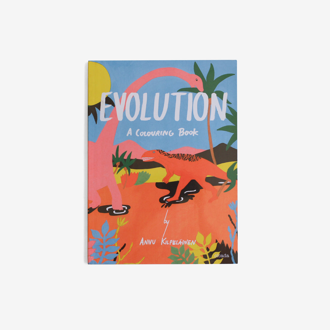 Evolution  - A Coloring Book