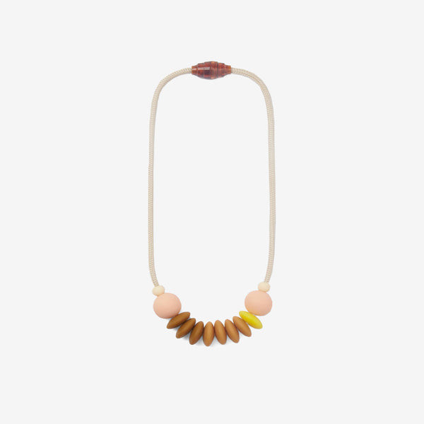 Silicone Sensory Necklace - Honey
