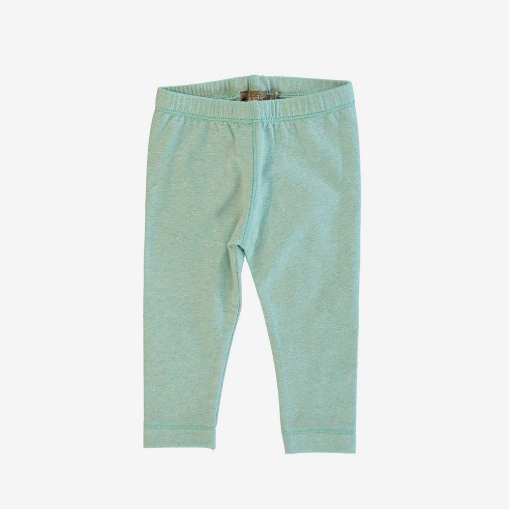 Billy Organic Baby Legging - Aqua