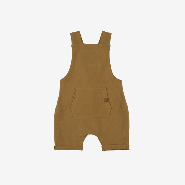 Organic Summer Overall - Curry