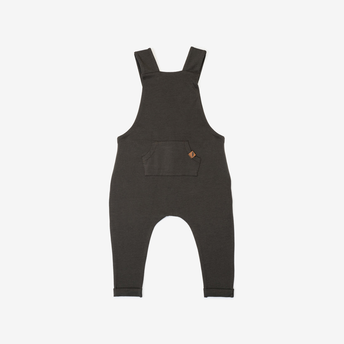 Organic Suspender Pant Overalls - Slate