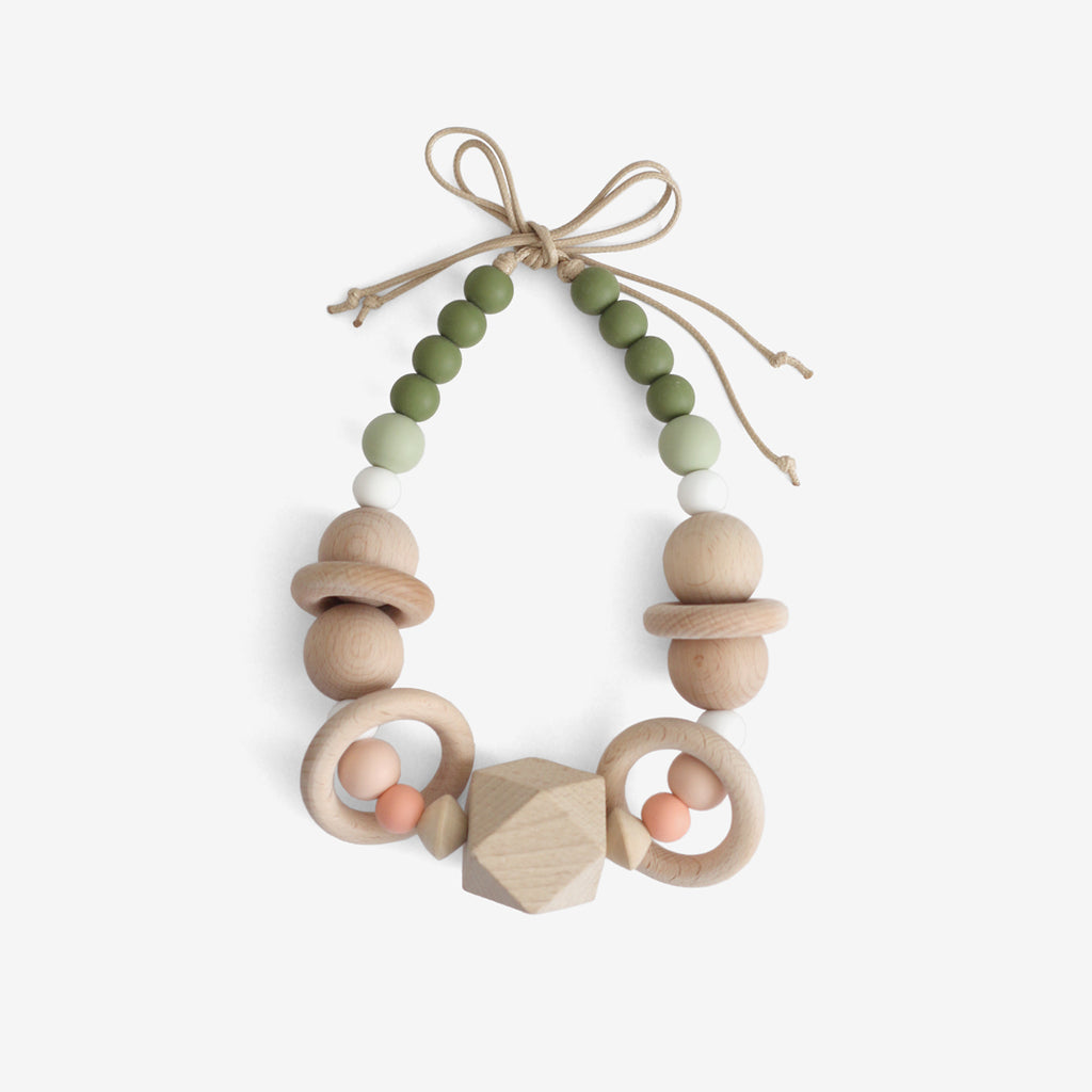 Moses Basket Pram Garland - Fresh