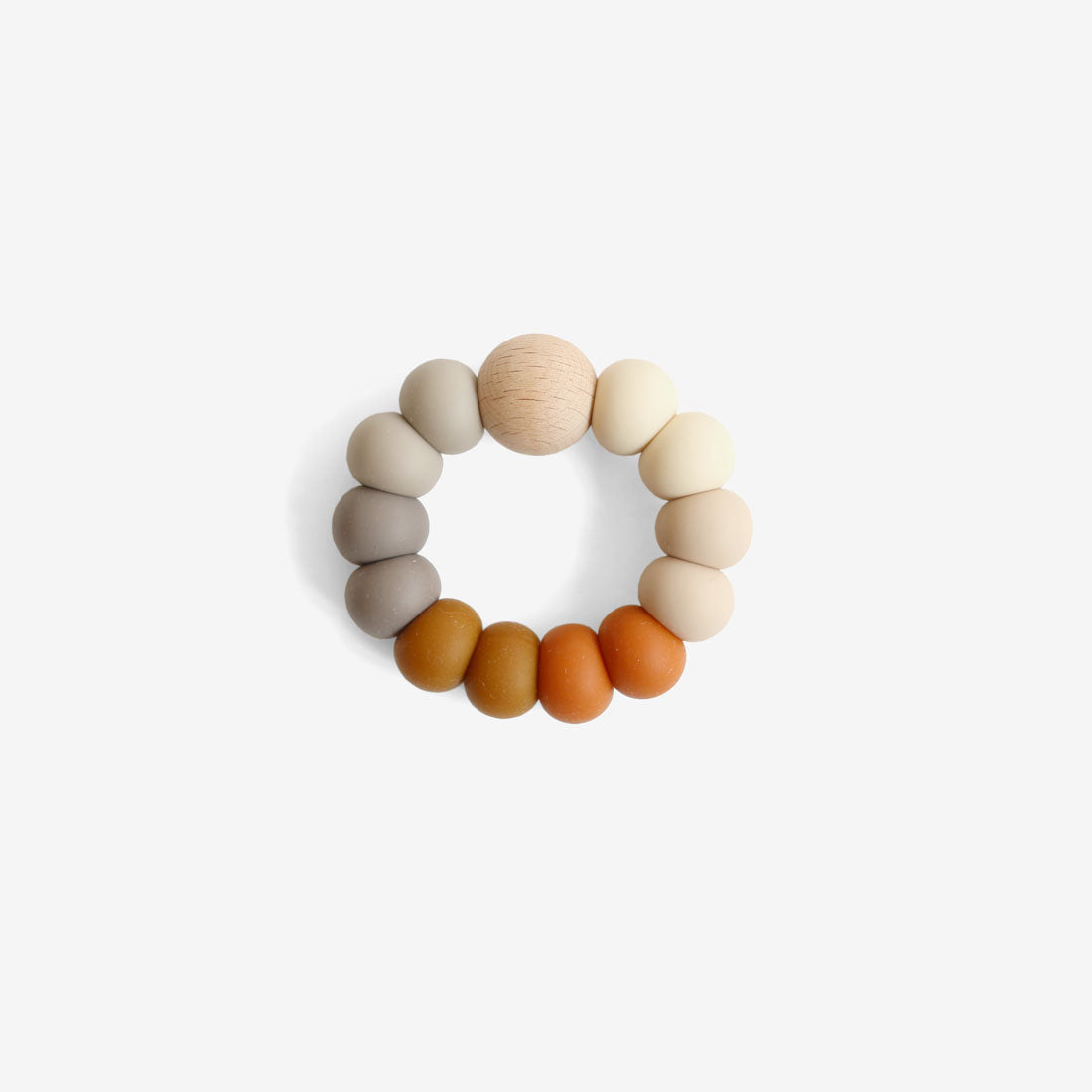 Silicone Bead Teether Toy - Spice