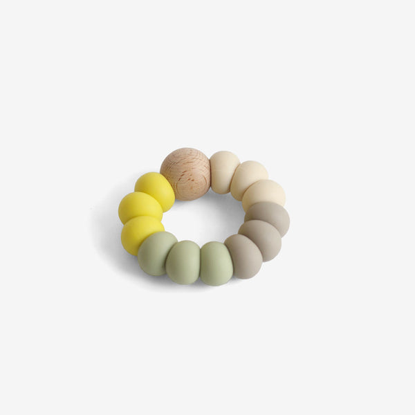 Silicone Bead Teether Toy - Sprout