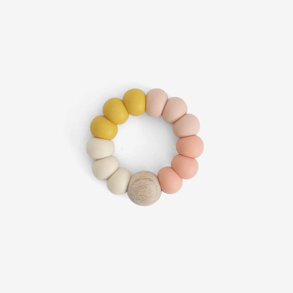 Silicone Bead Teether Toy - Desert