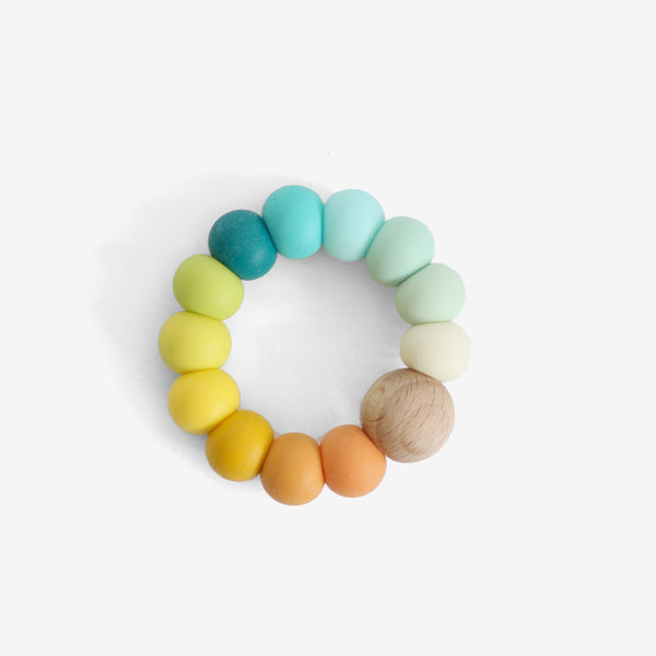 Silicone Bead Teether Toy - Duffi