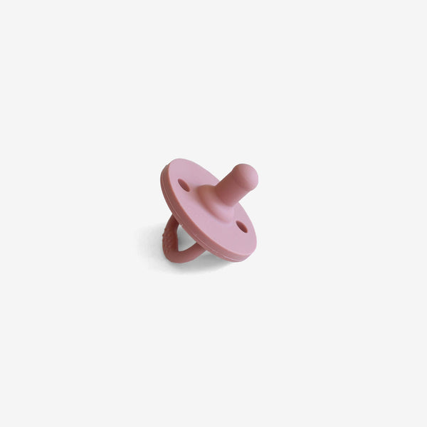 Silicone Pacifier - Rose