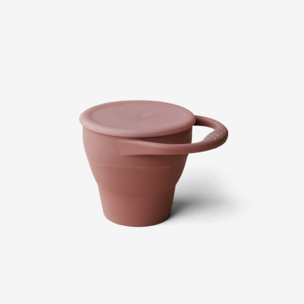 Silicone Snack Cup - Marsala