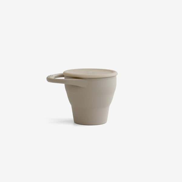 Silicone Snack Cup - Taupe