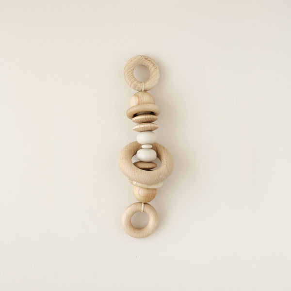 Wooden Bead Stroller Garland - Twin