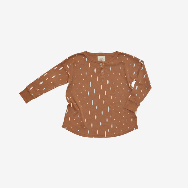 Fawn Long-sleeve Henley