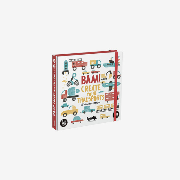 BAM! Stamp Set - Transports