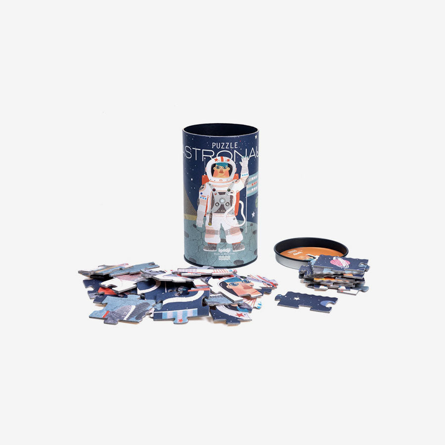 Canister Puzzle - 36-Piece Astronaut
