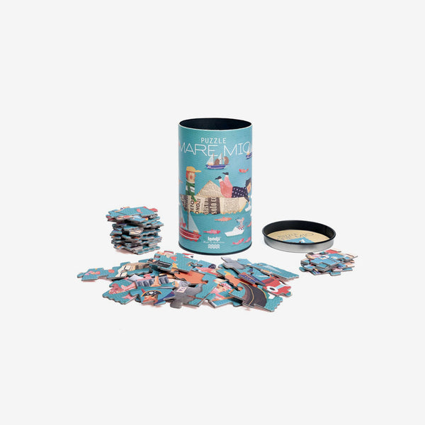 Canister Puzzle - 50-Piece Mare Mio
