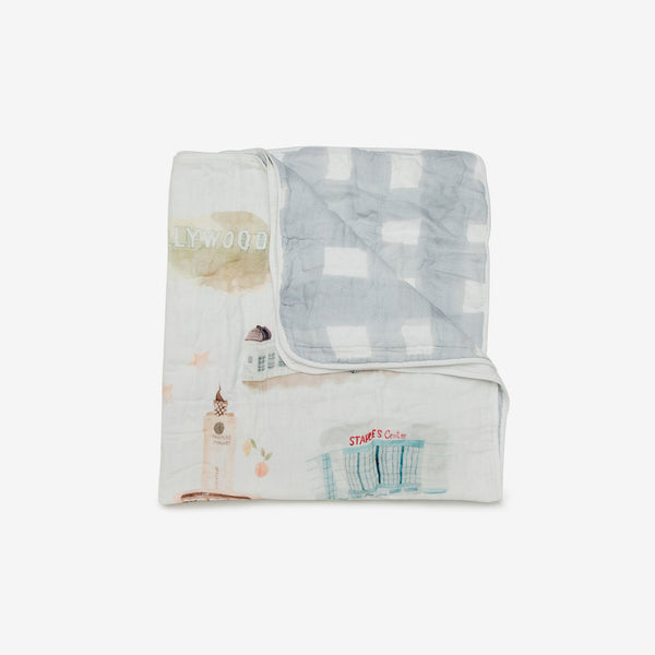 Bamboo/Cotton Muslin Quilt - Los Angeles