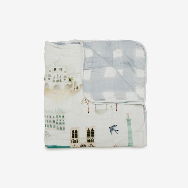 Bamboo/Cotton Muslin Quilt - London