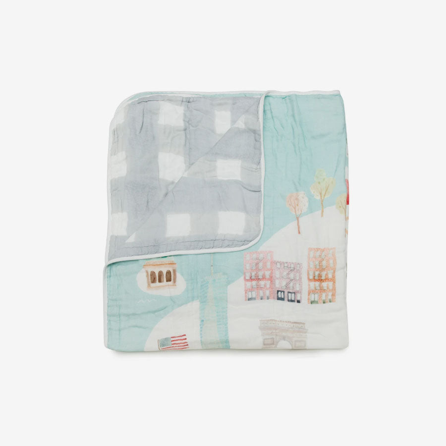 Bamboo/Cotton Muslin Quilt - Vancouver