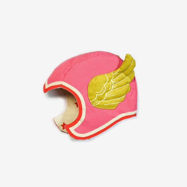 Winged Hero Hat - Pink