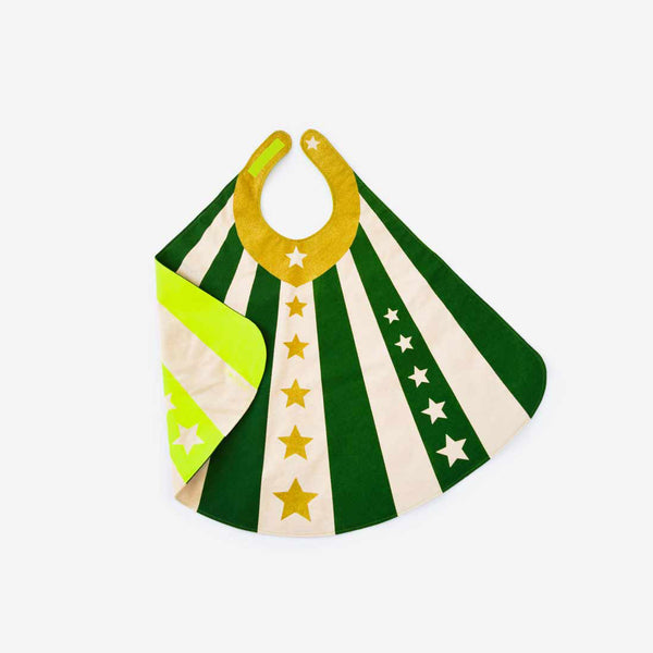 Reversible Hero Cape - Green