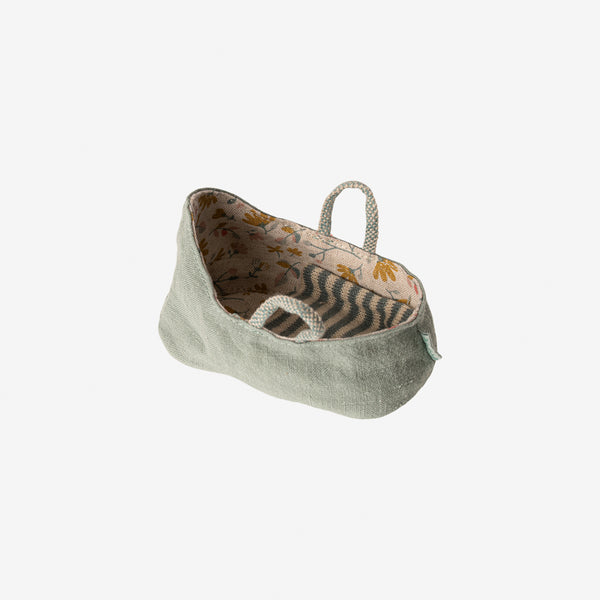 MY Mini Carry Cot - Dusty Green