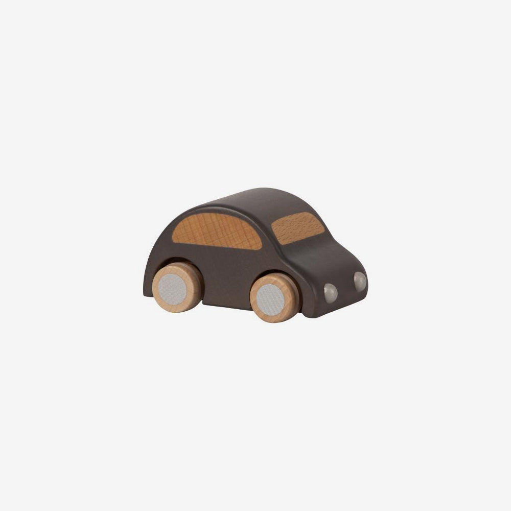 Pull-back Wooden Car - Anthracite