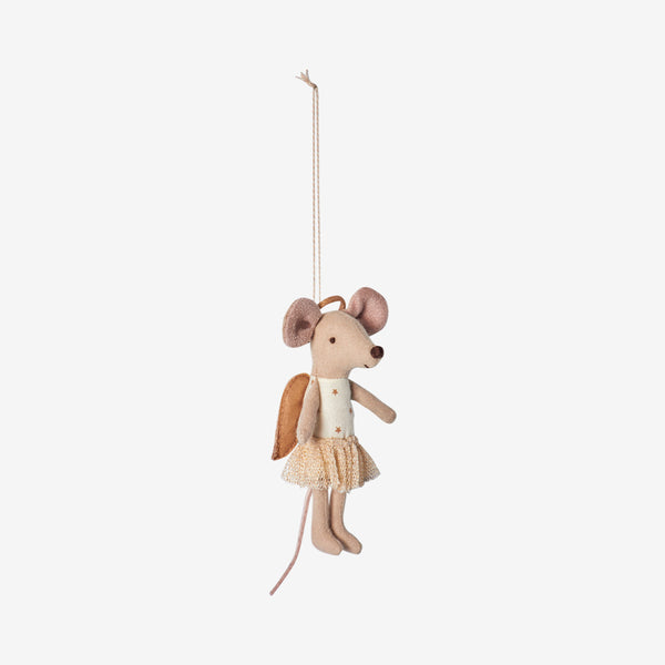 Baby Mouse Angel Ornament