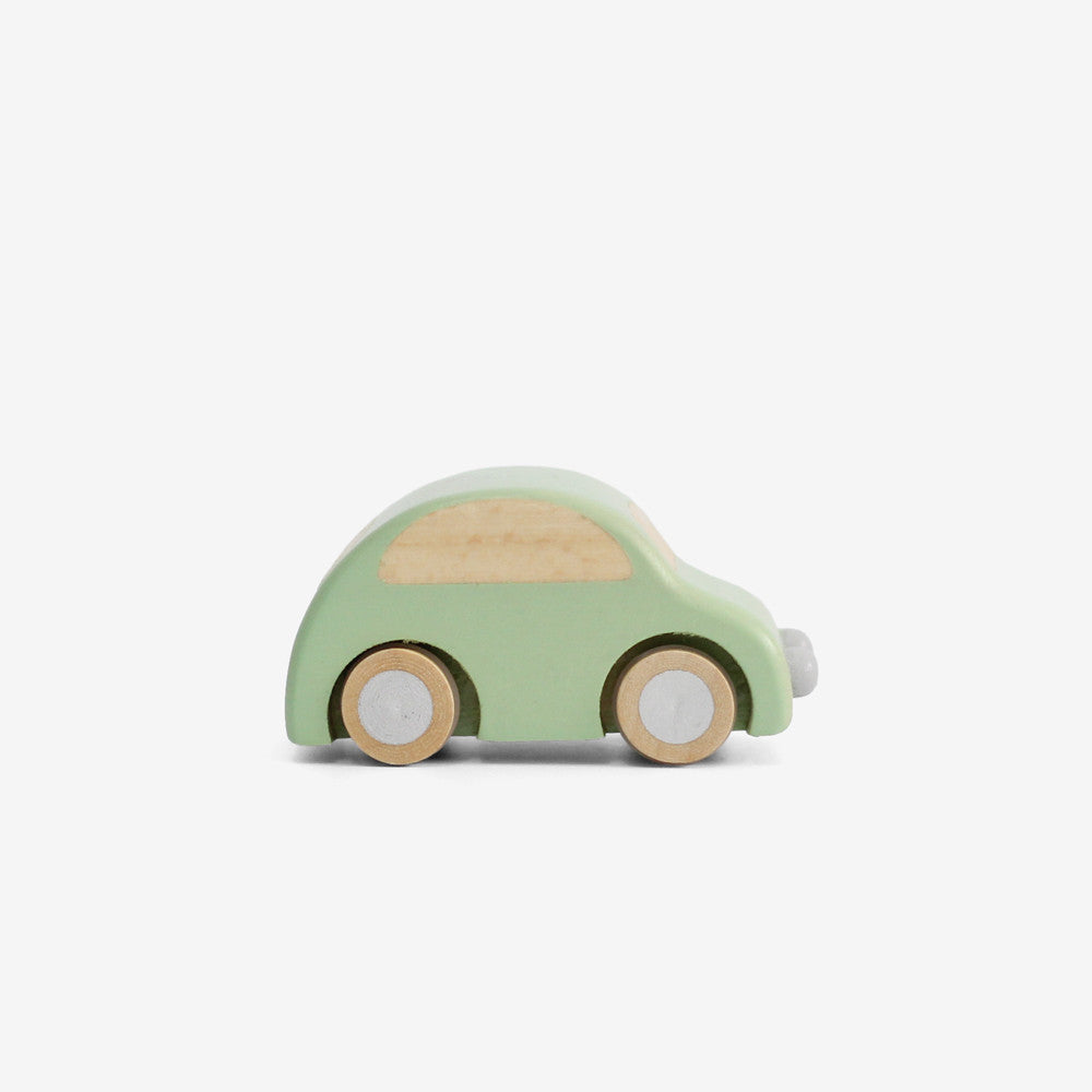 Wee Wooden Car - Green