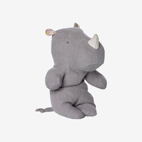 Safari Friends Baby Rhino - grey