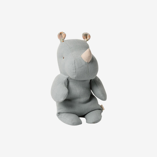 Safari Friends Rhino Small - Blue-Grey