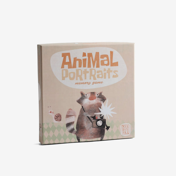 Memory & Matching - Animal Portraits