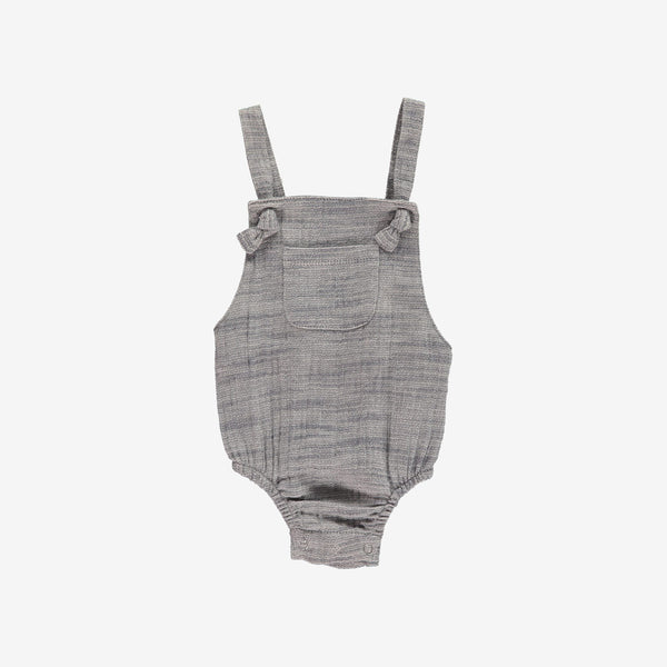 Knotted Woven Bubble Onesie