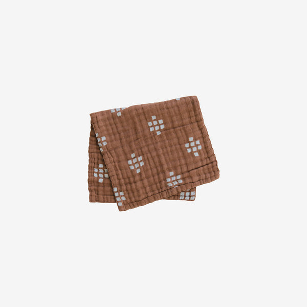 Cotton Muslin Burp Cloth - Chestnut Textiles