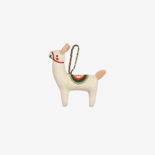 Christmas Tree Ornament - Llama