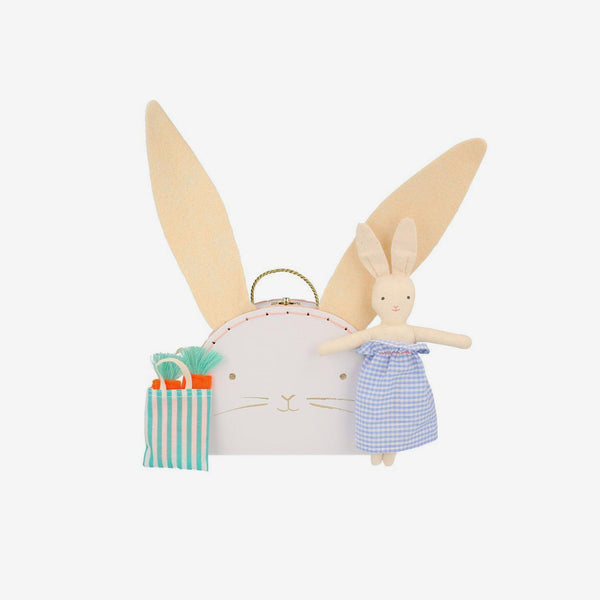Mini Suitcase Doll - Bunny