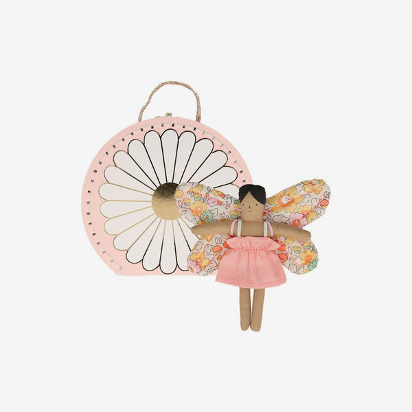 Mini Suitcase Doll - Butterfly Daisy