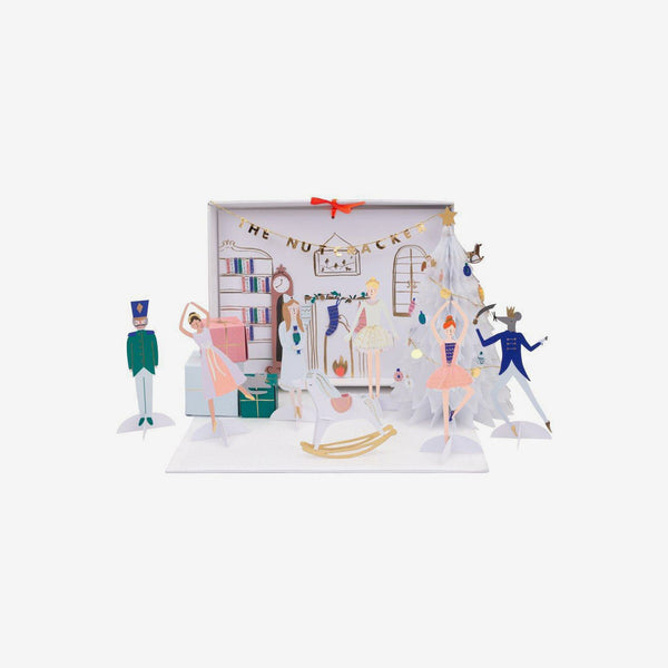 Paper Craft Advent Calendar - Nutcracker