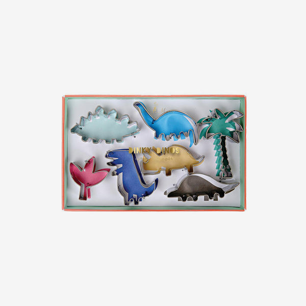 Cookie Cutters Set7 - Dinky Dinos