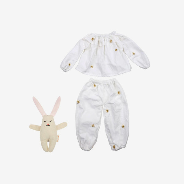 "19"" Meri Meri Doll Accessories - Pajamas Set"