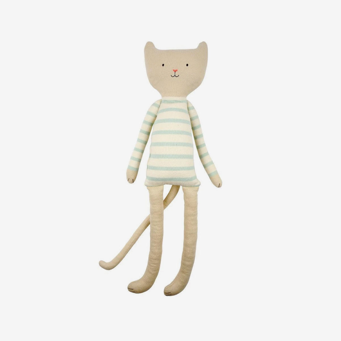 Large Organic Knit Animals - Chester Cat