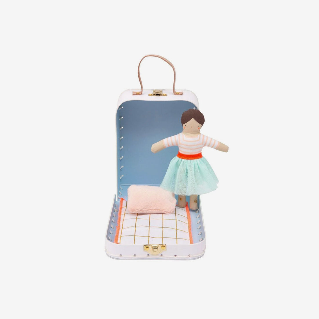 Mini Suitcase House & Doll - Lila