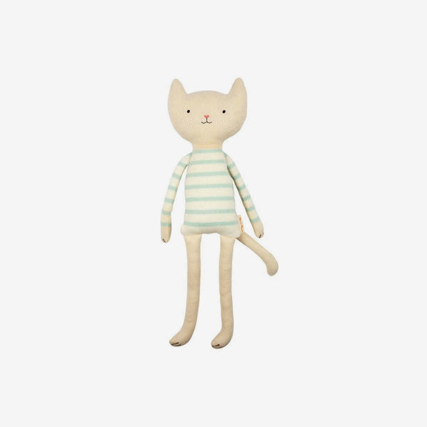 Small Organic Knit Animals - Cat