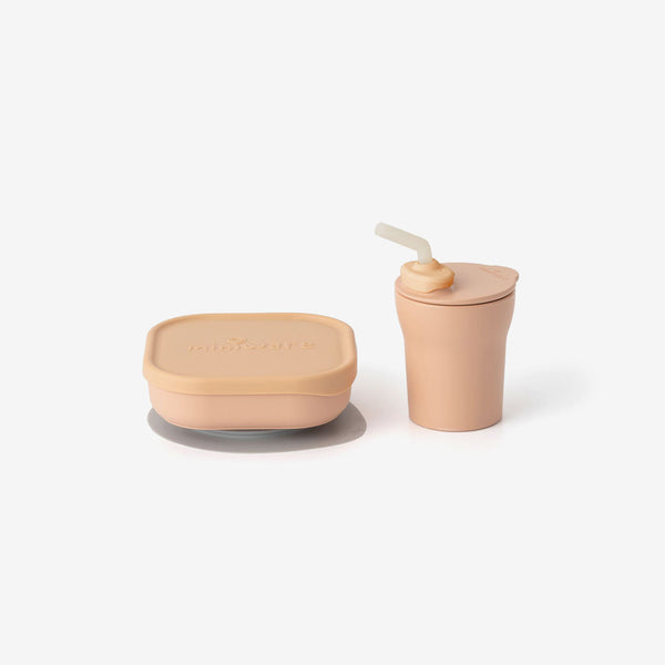 PLA Sip + Snack Set - Toffee
