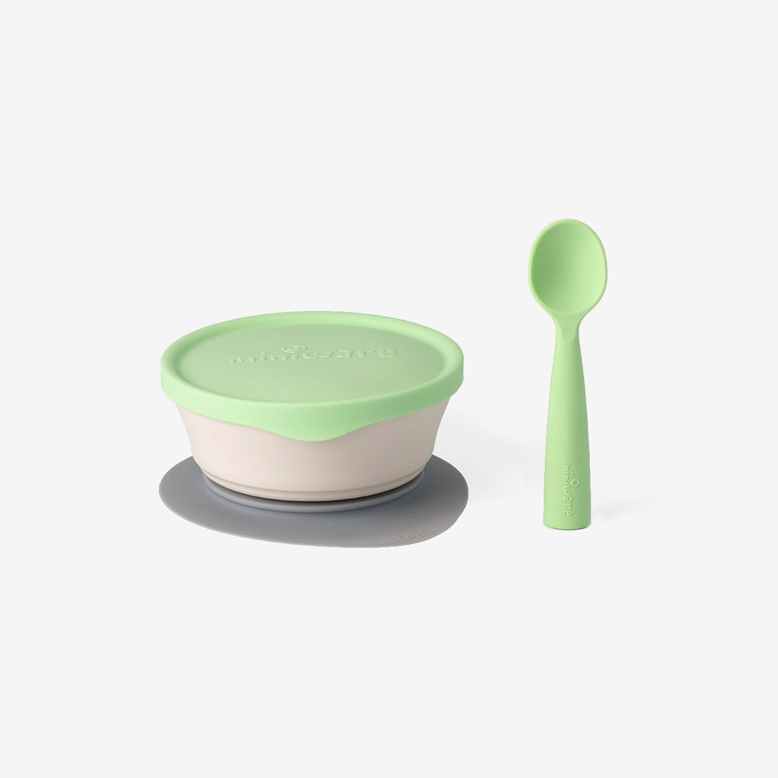 First Bites PLA Kid's Dish Set - Key Lime