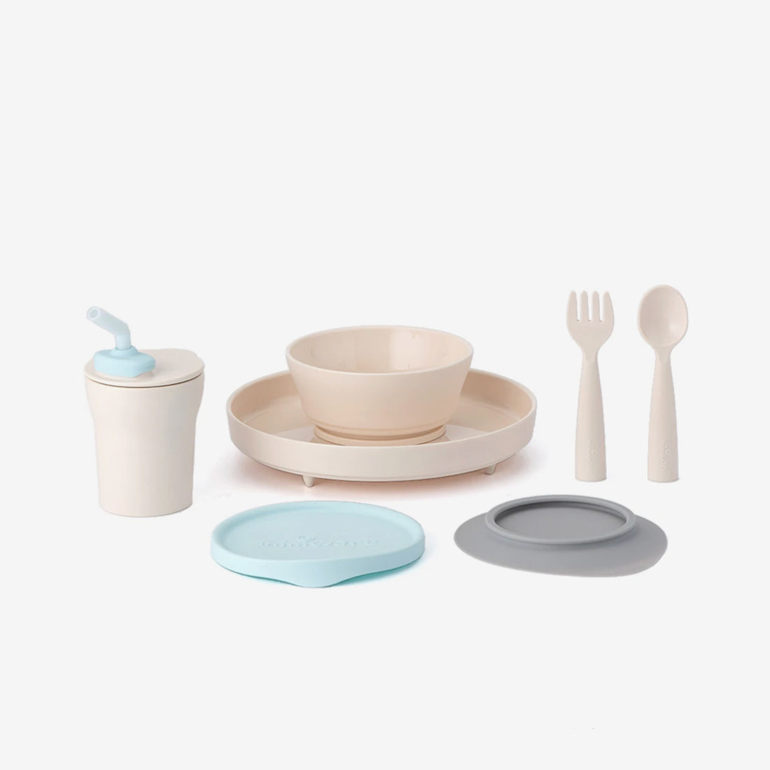 Little Foodie PLA 7-Piece Set - Aqua